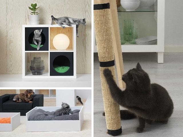 イケアからペット用品シリーズが誕生!猫ハウスや爪とぎなど発売予定