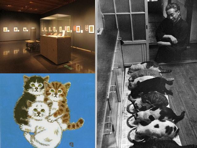 猫を愛した作家の企画展「大佛次郎と501匹の猫」11/26まで開催中
