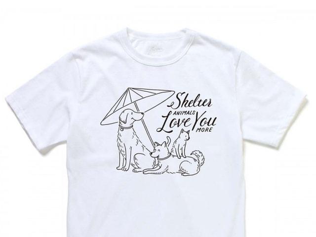 犬猫の保護施設建設を支援できるJAMMINのTシャツ、9/25から1週間限定で販売