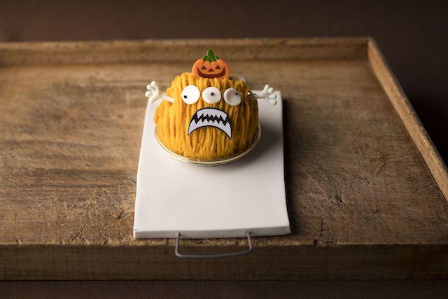 かぼちゃのモンスターモンブラン by シェラトンのカフェ トスティーナ