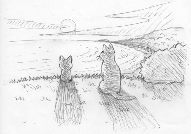 アニメ「こねこのチー」第二期作品の新作イラスト