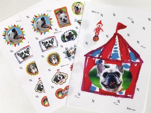 愛犬の写真でシール&クリアホルダーも作れるiPhoneアプリ、「PETLABEL(ペットラベル)」