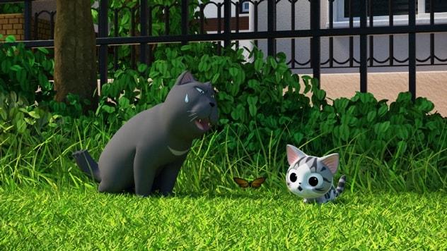 「こねこのチー ポンポンらー大冒険」3DCG版アニメ