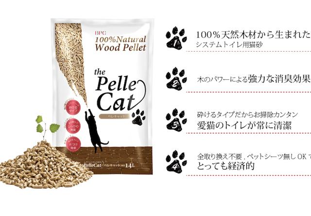 尿を吸収して形状変化する猫砂が発売!素材は100%天然木材