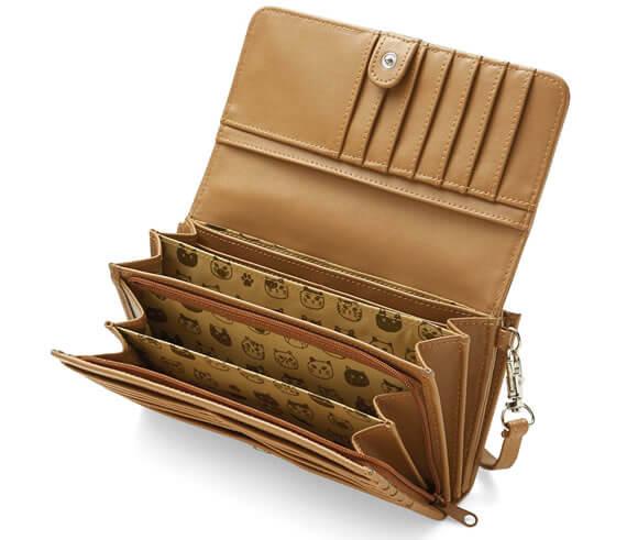 ツンデレにゃん 22ポケット付きの7つ星長財布