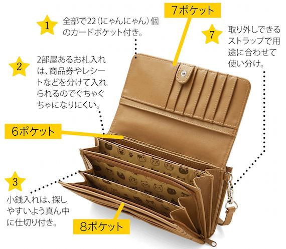 7つ星長財布の特徴1