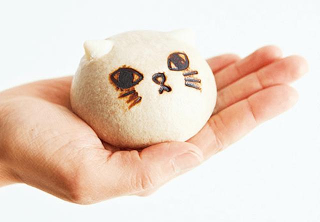 猫のようにふかふかしたスイーツまん「ニャムチャ」が新発売