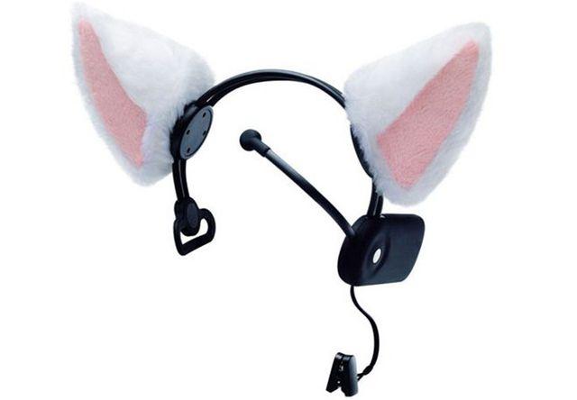 猫耳型コミュニケーションツール Necomimi (ネコミミ)