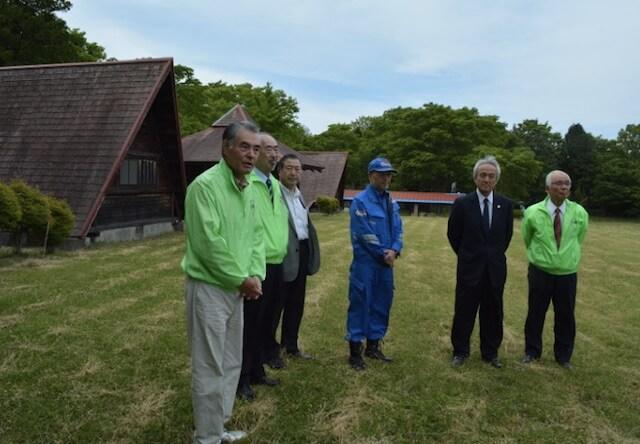 九州災害時動物救援センターの現地説明会