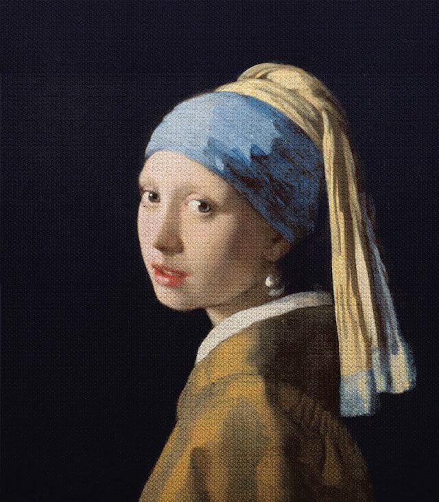 「真珠の耳飾りの少女」 ヨハネス・フェルメール