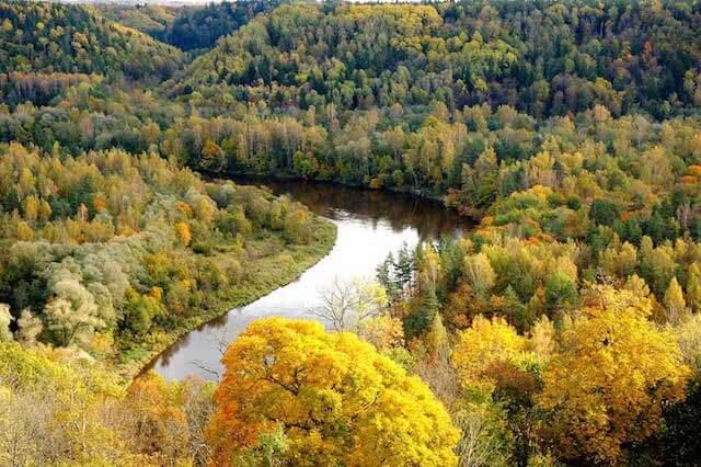 ラトビアの美しい自然1