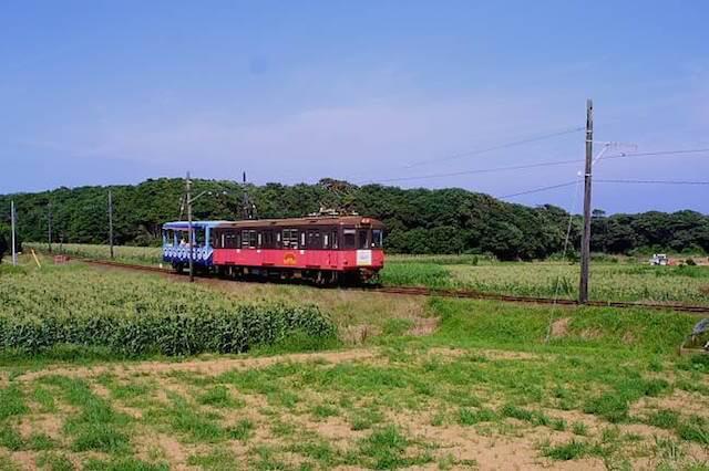 銚子電鉄が走る風景