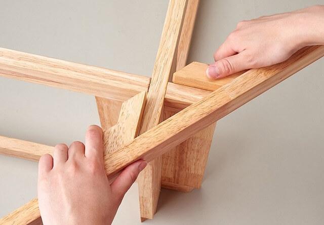 キャットハンモック アドバンスは工具不要で組み立てが簡単