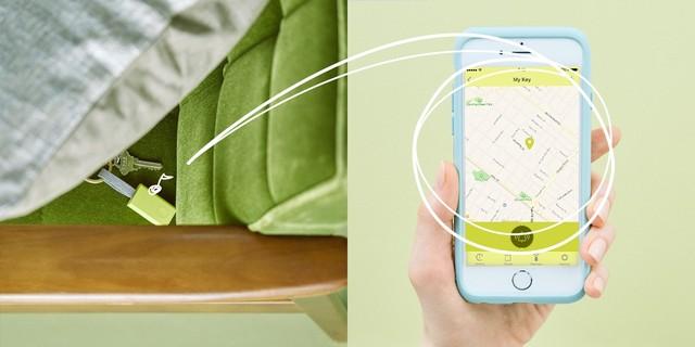 スマホアプリからスマートタグのブザーを鳴らせます