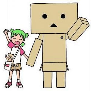 人気コミック「よつばと!」に登場するダンボール製のロボット、「ダンボー」
