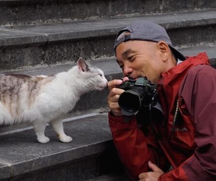 動物写真家の岩合光昭さん