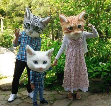 リアル猫ヘッド撮影会