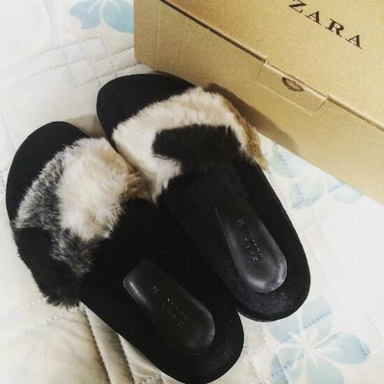 三毛猫柄のサンダル instagram写真3