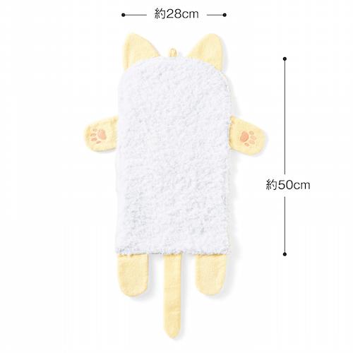 程よいサイズ感のタオル