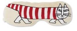 リサ・ラーソンのマイキーがデザインされた、ふわふわ抱きクッション(猫用)
