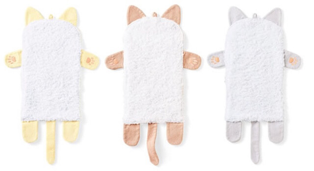 タオルのカラーは3種類