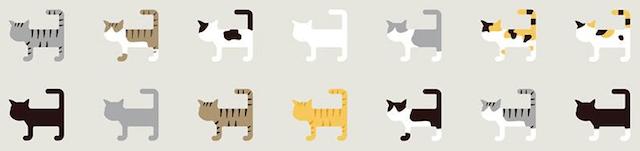 尾曲がり猫のロゴ