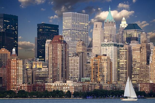 マンハッタンの高層ビル