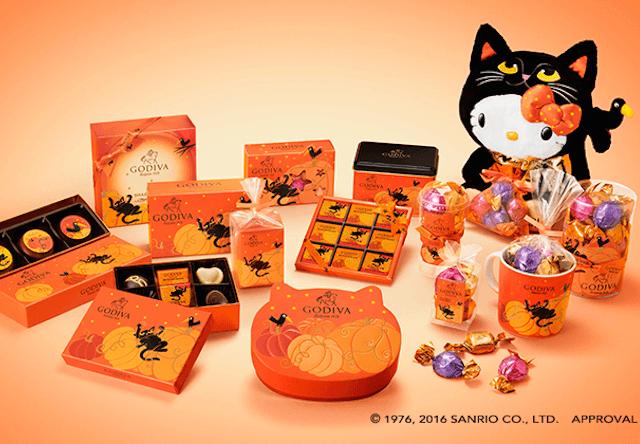 ハロウィン限定、ゴディバが黒猫とカラスのチョコレートを発売