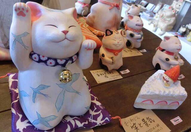 長崎県の島原で1,000体の招き猫を展示した猫まつりを開催中