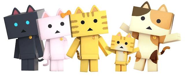 アニメ「にゃんぼー!」に登場するキャラクターたち