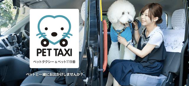 三和交通の「PET TAXI(ペットタクシー)」、「PET119番(ペット119番)」