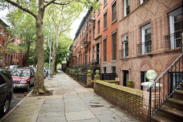 ブルックリンの住宅街