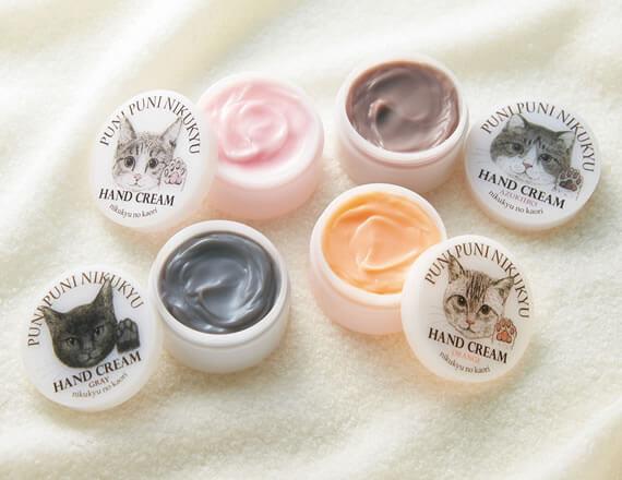 大人気商品「猫の肉球の香りがするハンドクリーム(人間用)」の新色バージョン