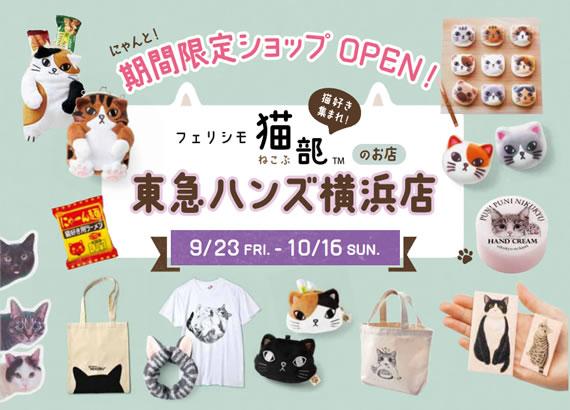 フェリシモ猫部 東急ハンズ横浜店