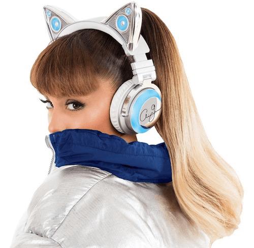 ネコ耳型ヘッドフォン「AXENT WEAR(アクセント ウェア)」のアリアナ・グランデ」限定モデル5