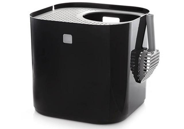 猫トイレ「ModKat モドキャット」のブラックカラー