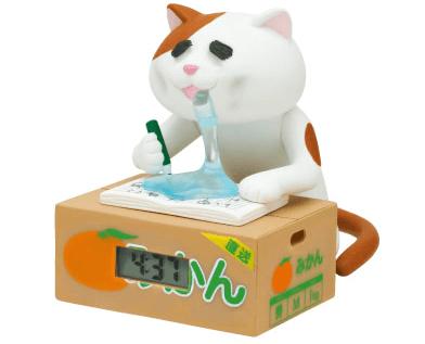 「徹夜ねこウォッチ」の三毛猫バージョン