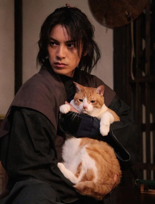 猫忍(ねこにん)の主人公・陽炎太を演じる大野拓朗