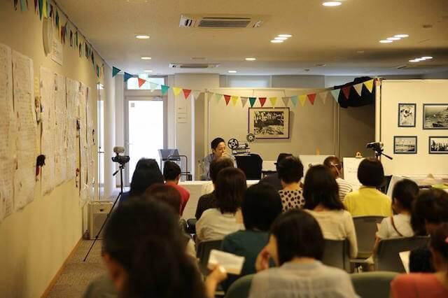 真鶴町の地域猫イベント「まにゃづる」講演の様子