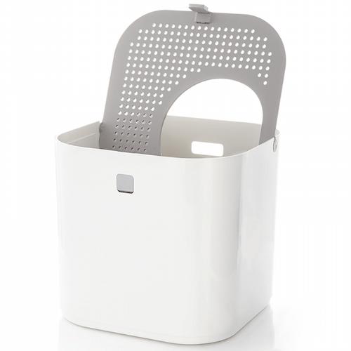 猫トイレ「ModKat モドキャット」のフタは中央を起点に回転する仕組み