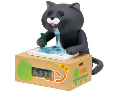 「徹夜ねこウォッチ」の黒猫バージョン