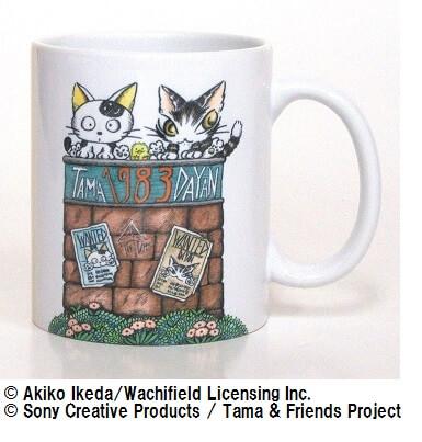 タマ&フレンズと猫のダヤンの「マグカップ」
