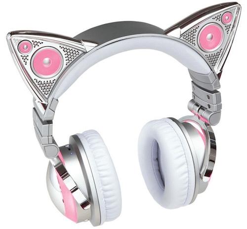 ネコ耳型ヘッドフォン「AXENT WEAR(アクセント ウェア)」のアリアナ・グランデ」限定モデル1