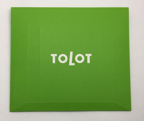 フォトブック「TOLOT」の実物レビュー、梱包された状態の写真