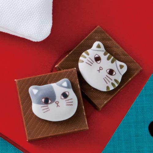 ねこチョコ ミニトートのチョコレート