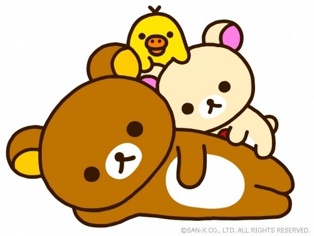 人気キャラクターのリラックマ&コリラックマ