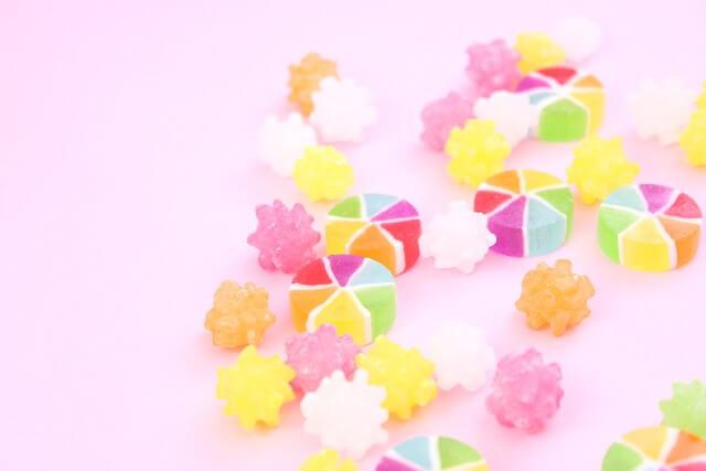 砂糖菓子、こんぺいとう(金平糖)のイメージ写真