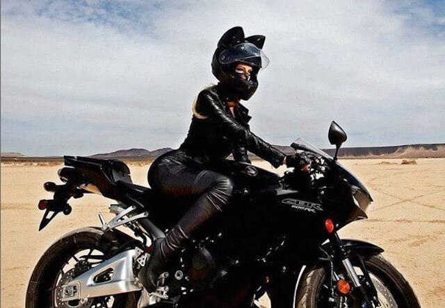 猫好きライダーに朗報!ロシア製の猫耳ヘルメットが国内販売開始