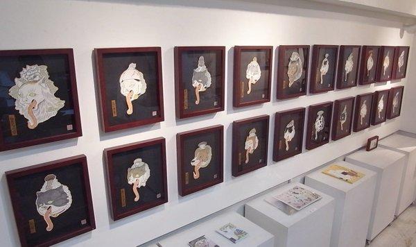 画家・石黒亜矢子さんの個展