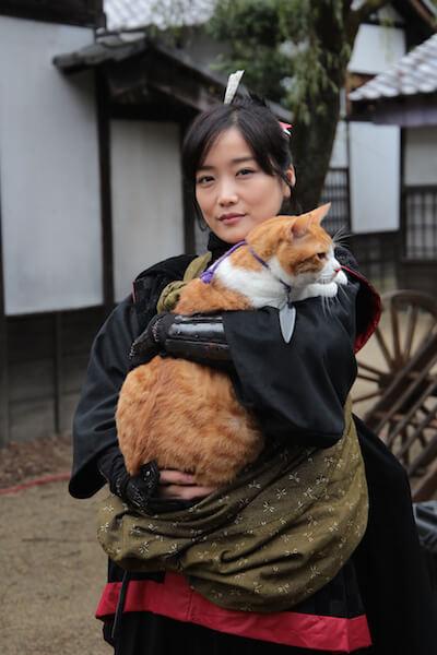 映画版「猫忍」のヒロイン役、佐藤江梨子さん